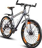 "Mountain Bike, MINGDI 26"" MTB 24 Speed Bicycle with Disc Brakes (26 INCH)"