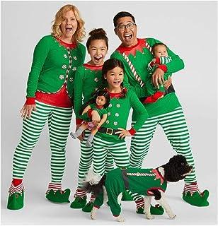 0bae1d32a0b Kehen Family Matching Christmas Pajamas Set for Baby Kids Mom and Dad Xmas  Santa Print Sleepwear