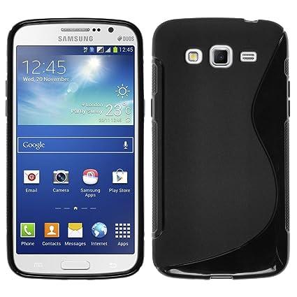Carcasa flexible de silicona, diseño de gel para Samsung Galaxy Grand 2 G7100, SM-SM-, SM-G7106 G7102, SM-Cierre lateral