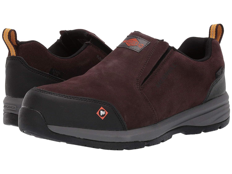 爆売り! [メレル] メンズランニングシューズスニーカー靴 Windoc Moc Steel Toe [並行輸入品] B07N8F8YCZ Espresso 28.5 cm 28.5 cm|Espresso, オバリサインSHOP 86cde7d2