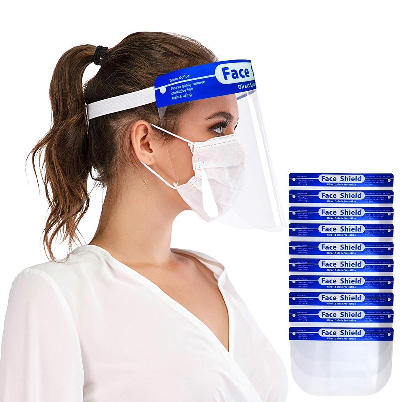 30Pcs Safety Full Face Cover Shield Goggles Visor Anti-splash Protector