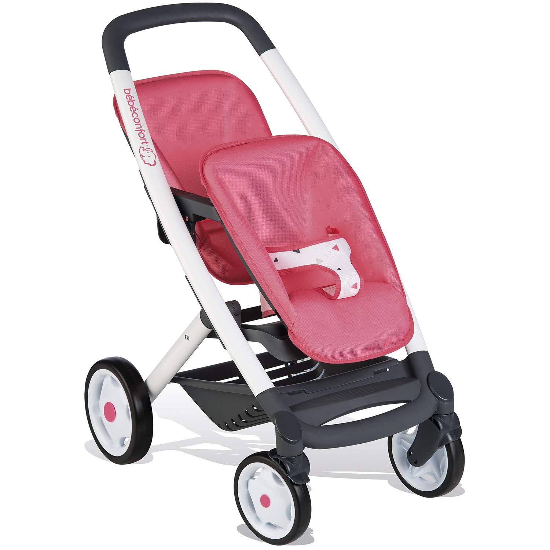Smoby Bebé Confort Sillita gemelar, Color Rosa (253299) 7/253299