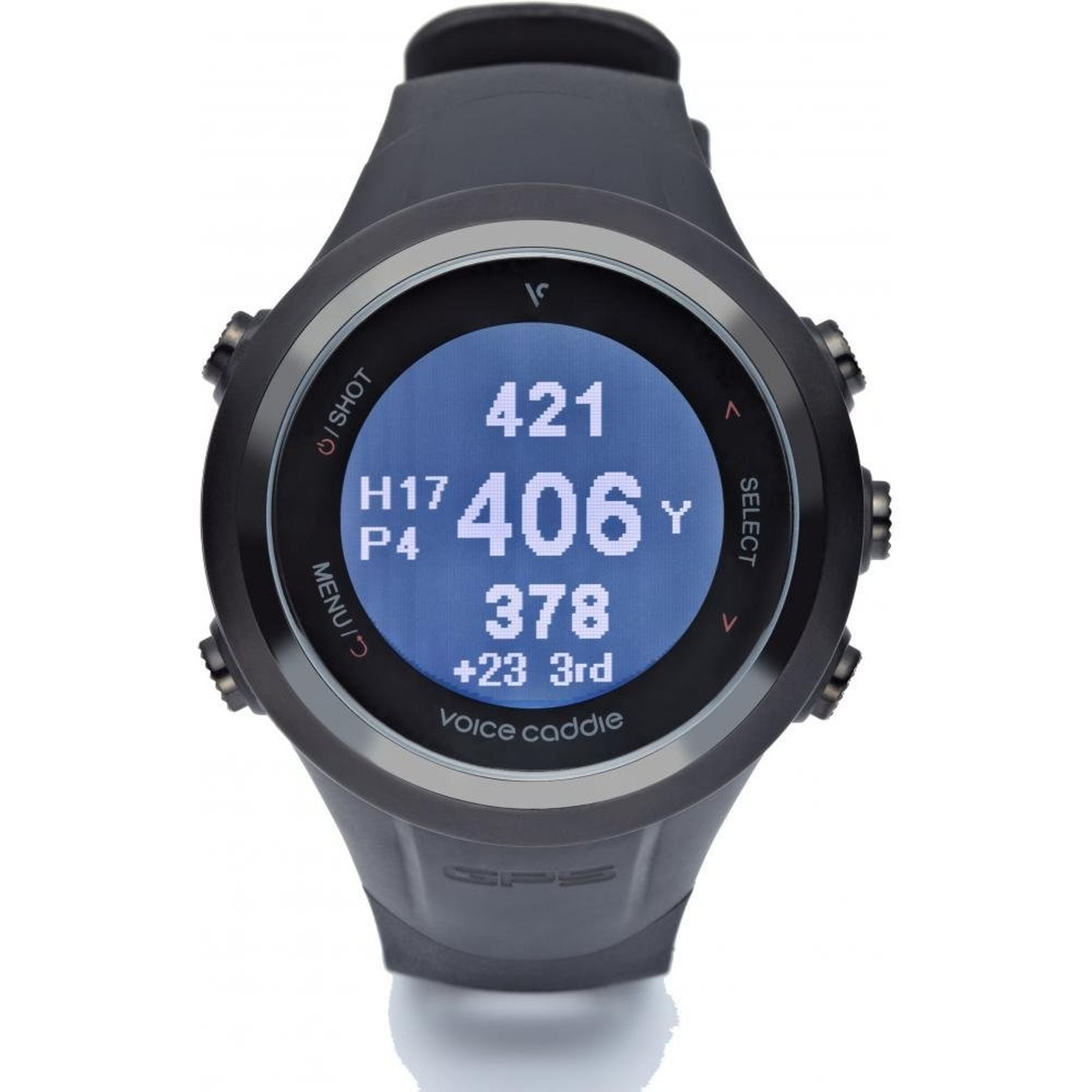 VOICE CADDIE T2 GPS Watch And Tracker -Black