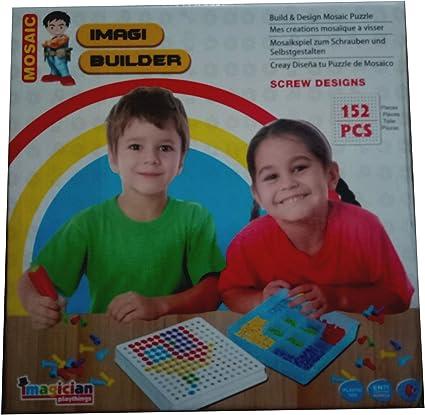 Imagi Builder Mosaic Puzzle - Screw Designs