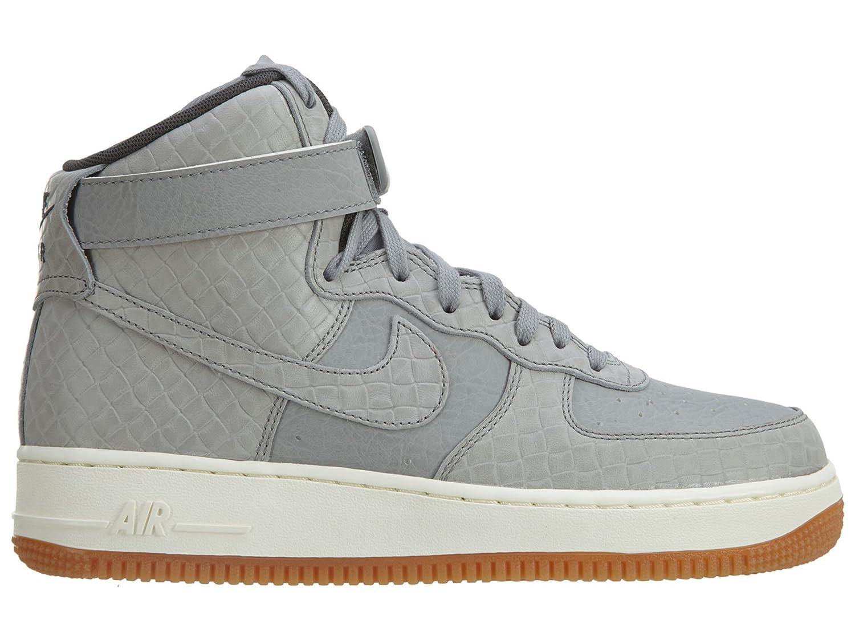Zapatillas mujer de baloncesto Nike para mujer Zapatillas Gray Air Force Wolf 1 Hi 0b11e3