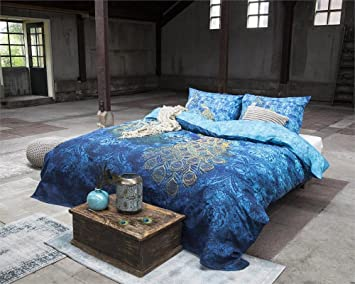 Amazon.com: Duvet Cover Dreamhouse Bedding Peacock, Twin, With 1  Pillowcase, Cotton: Home U0026 Kitchen