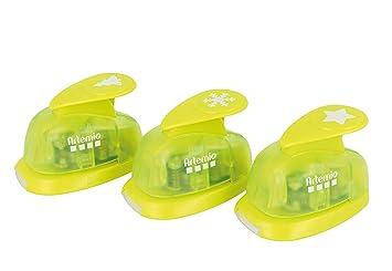 Artemio kit 3 perforatrices 5//8 Formes 13,5x5x16,5 cm Vert