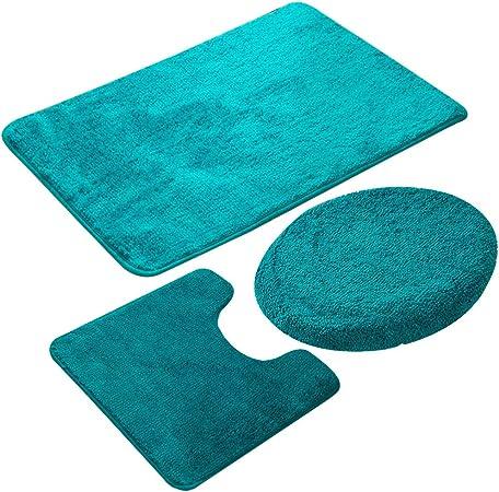 100/% Coton Tapis de bain douche peluche absorbant salle de bain Tapis De Luxe Couleur Design
