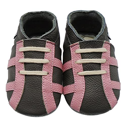 f21c35083a6a3 Amazon.com | Mejale Baby Girls Premium Soft Sole Leather Moccasins ...