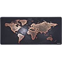JIALONG Gaming Mouse Pad Large Size 900x400mm Water-Resistant Extended Mouse Mat World Desk Mat Gaming Support for Computer, PC and Laptop