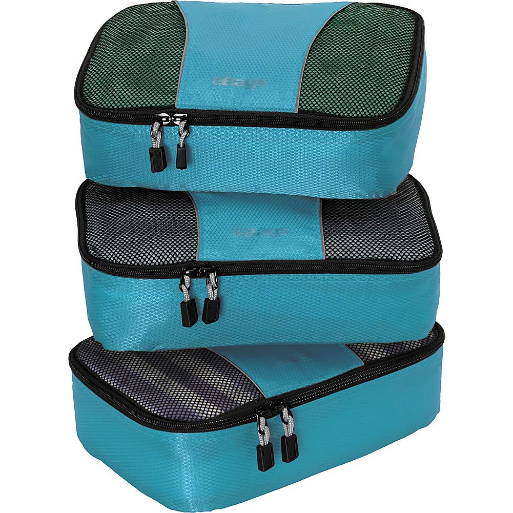 eBags Small Packing Cubes for Travel - Organizers - 3pc Set