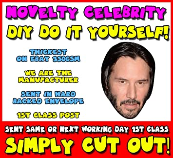 Diy do it yourself face mask keanu reeves long hair celebrity diy do it yourself face mask keanu reeves long hair celebrity face mask solutioingenieria Images