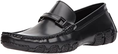 Kenneth Cole REACTION Men's Design 20474 Driving Style Loafer, Black, ...