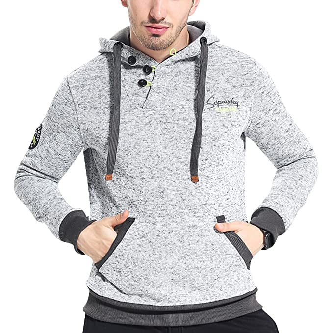 Hombres Cool Slim Fit Jacket Chaqueta Abrigo Gabardina Top Hoodie Trenca con Capucha: Amazon.es: Ropa y accesorios