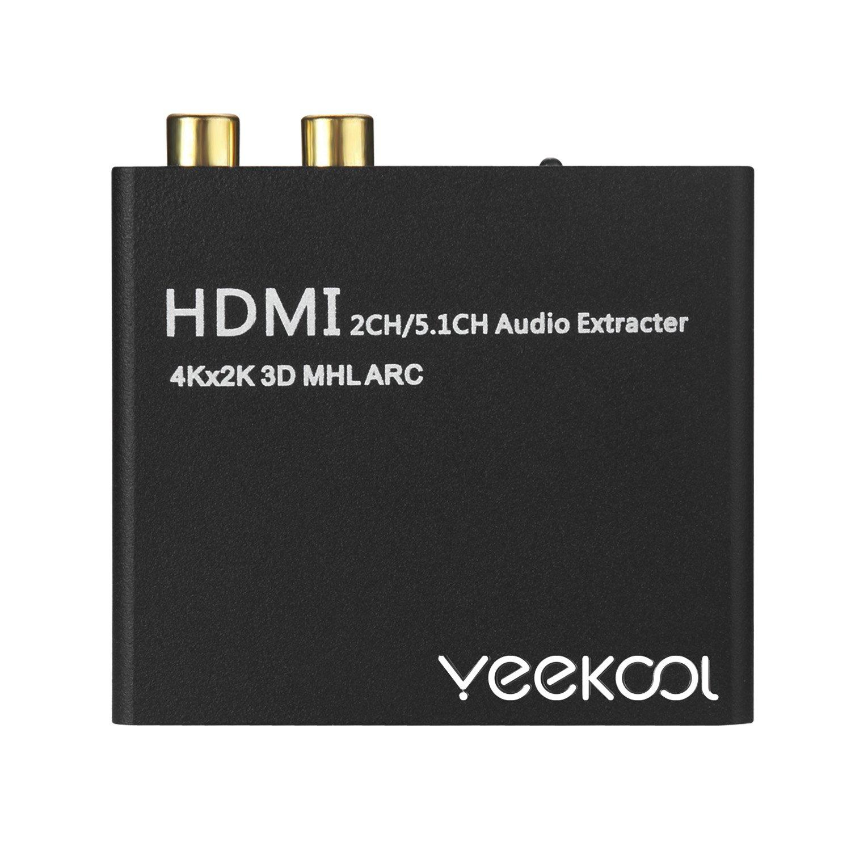 yeekool HDMI zu HDMI Audio Return Adapter mit Toslink: Amazon.de ...