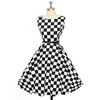 Trendy-Nicer Retro Robe Dot Rockabilly Vintage Plus Size Sexy Cocktail Party Dress Vestidos,