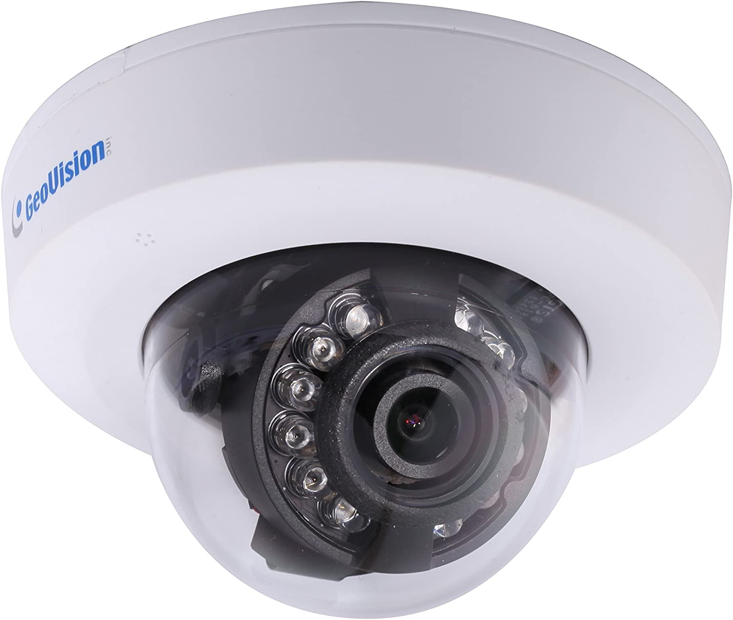 Hikvision USA DS-2CD2532F-I 2.8MM Outdoor Mini Dome Camera, IP66, 3 MP, IR to 10 Meters, PoE and 12VDC, 2.8 mm Lens