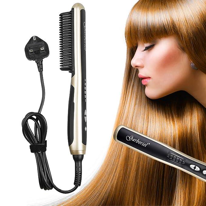 Cepillo alisador de cabello eléctrico Shine Tool para alisar el ...