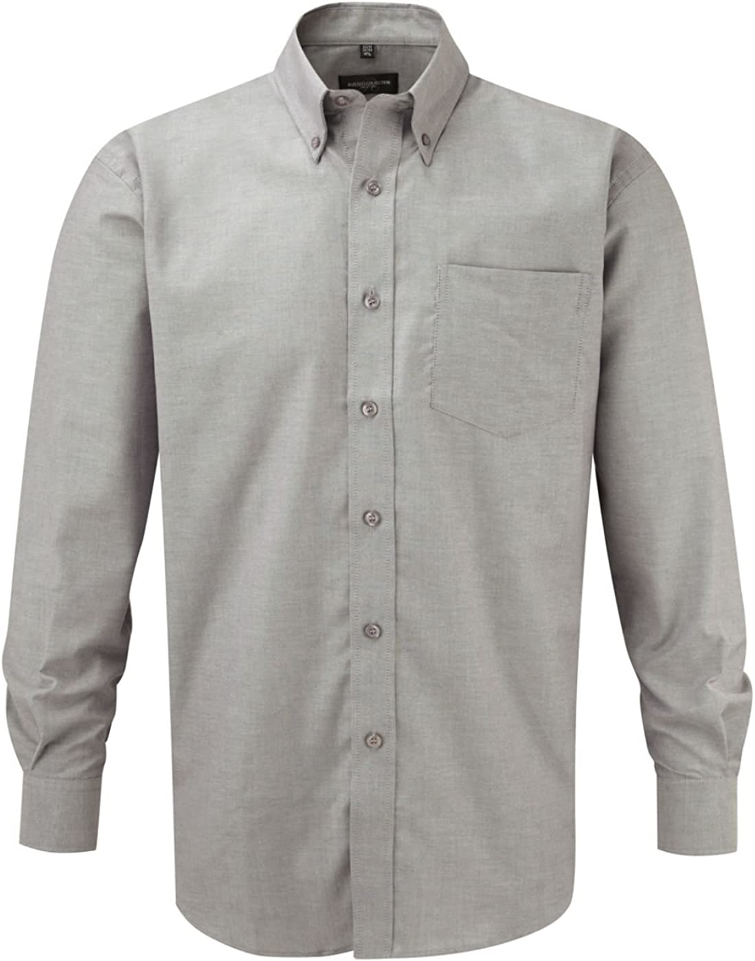 Russell Oxford Long Sleeve Shirt Easy Care