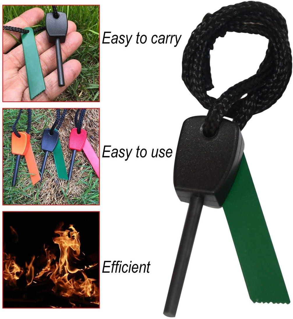 Zinniaya Camping Survival Outdoor Equipment Economic Version Of Mini Flint Waterproofing Fire Magnesium Strip