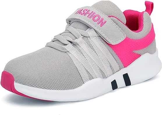 Yeeper Nuevo Zapatillas de Deporte Transpirables con Cierre de Velcros y Suela Antideslizante para Los Niños y Los Adolescentes: Amazon.es: Zapatos y complementos