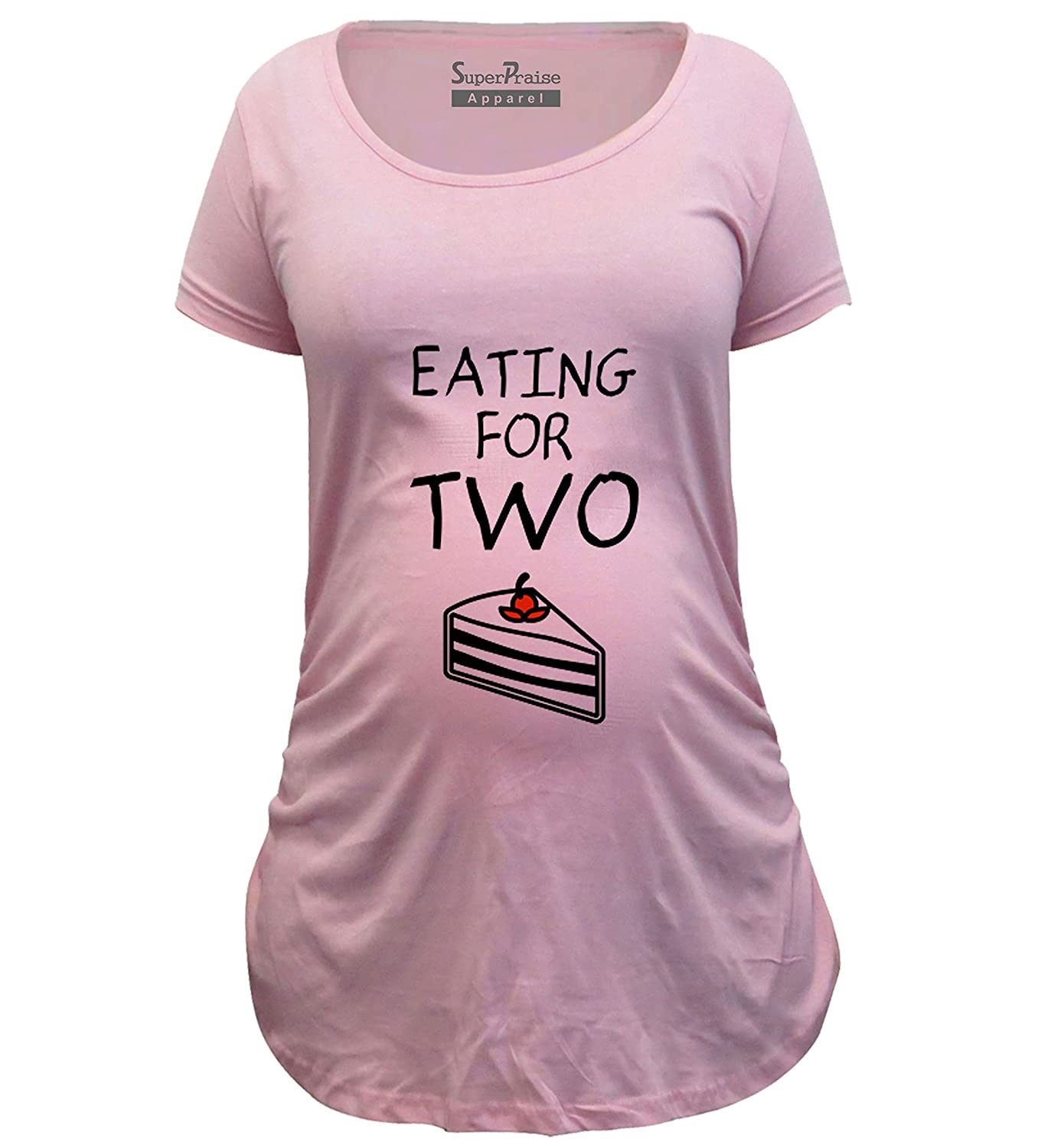 Short Sleeve Maternity Top Size 12 14 /& 16 Pink