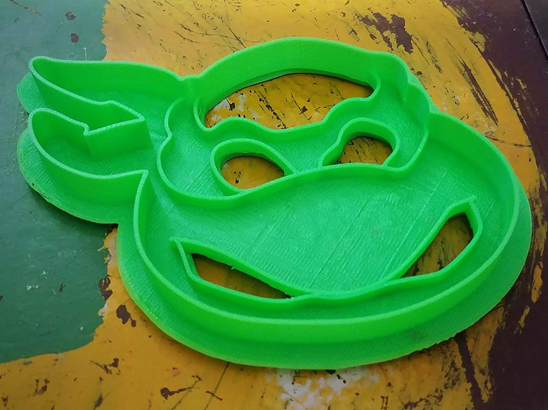 3D Printed Cookie Cutter Inspired by Teenage Mutant Ninja Turtles