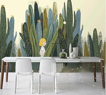 Yosot Grosse 3d Kakteen Wandbilder Fototapete Fur Wohnzimmer Kaktus