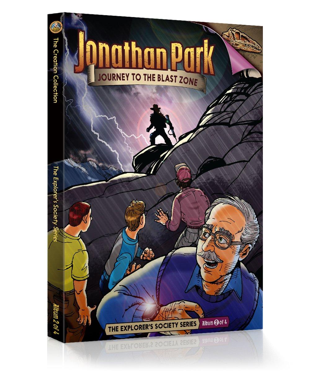 Jonathan Park The Explorer's Society #2: Journey Into the Blast Zone pdf epub