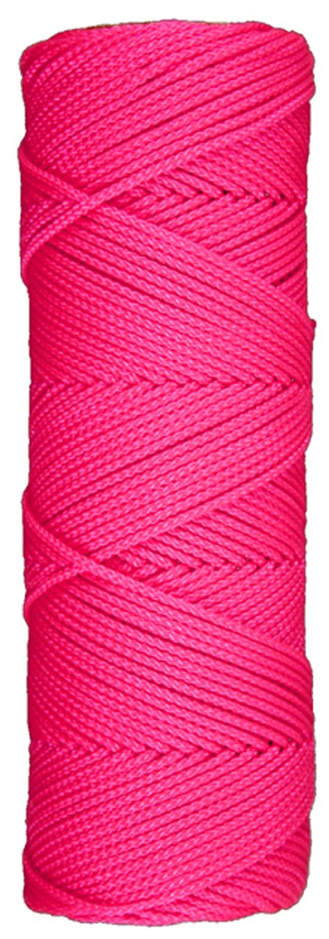 Home Improvement 250 Ft L 250 Pink 250 Ft L 250/' Pink Jensen Lehigh Group BNT14P6 Lehigh Mason Twine