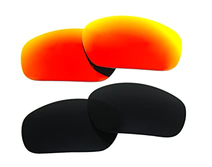 e18a818ec3a Image Unavailable. Image not available for. Color  2 Pairs Polarized  Replacement Sunglasses Lenses for Oakley Jawbone ...