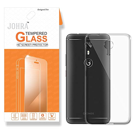 classic fit 60b1a e6b5f Gionee A1 Transparent Back Cover/Gionee A1 Back Cover/Johra Real HD+ ...