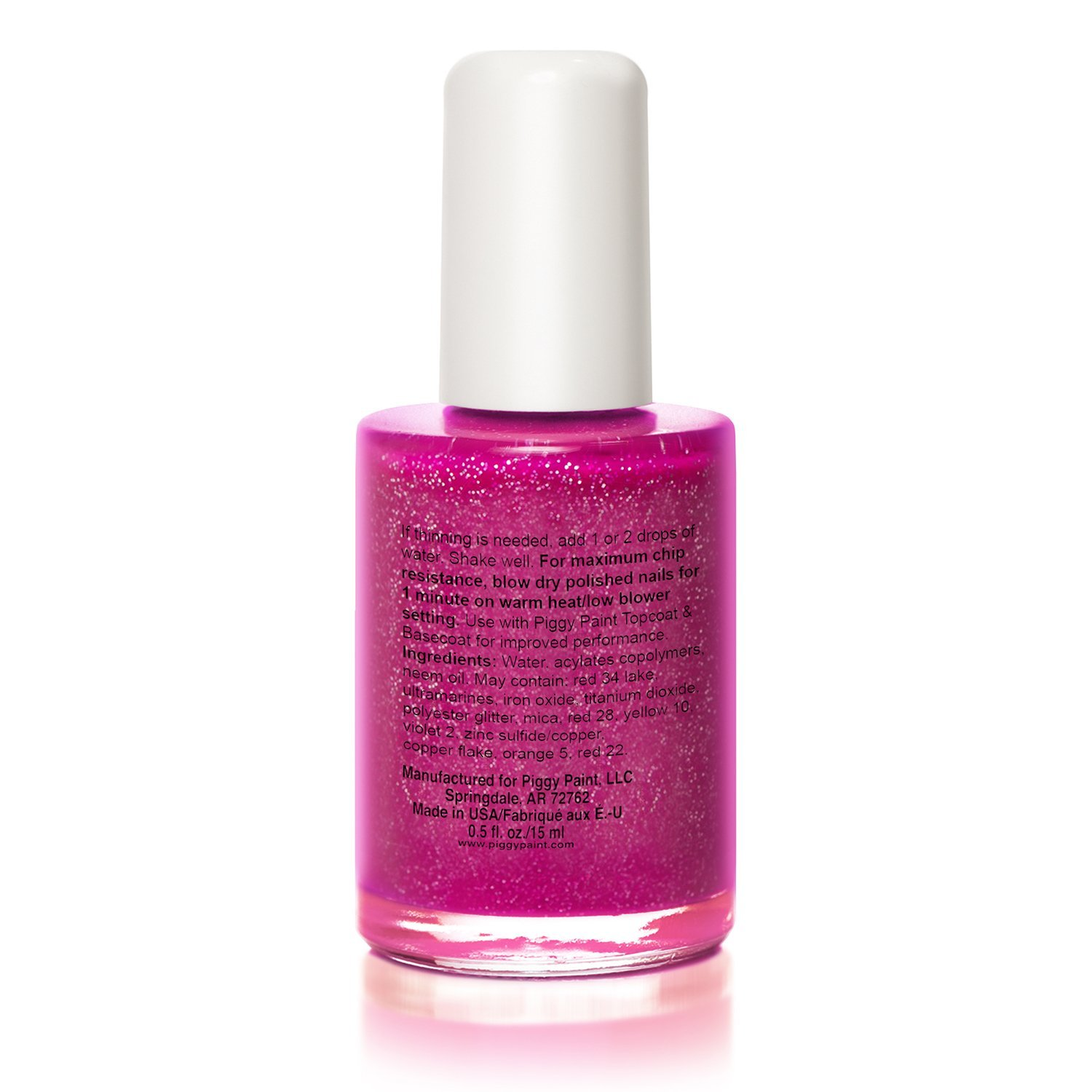 Amazon.com : Piggy Paint 100% Non-toxic Girls Nail Polish - Safe, Chemical  Free Low Odor for Kids, Glamour Girl : Baby Nail Polish : Beauty