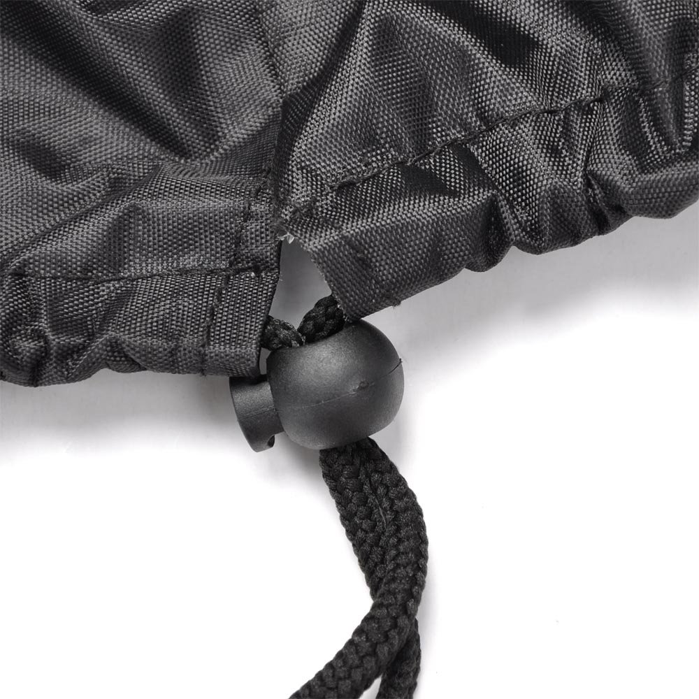 Yescom 420D Oxford Winch Dust Cover Water and Uv Resistances Fits Driver Recovery 15000lb-17500lb Black