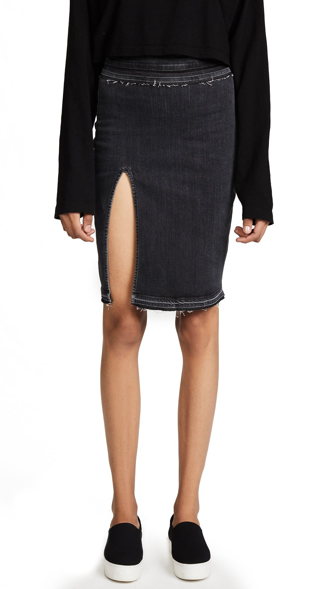 Hudson Women's x Baja East Winnie Skirt, Disarm, 25