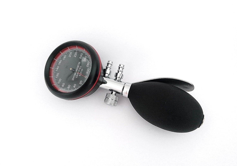 Esfigmomanómetro Tensiómetro Analógico Manual de Brazo + Grabado (Negro/Negro): Amazon.es: Salud y cuidado personal