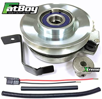 Bundle - 2 items: PTO Electric Blade Clutch, Wire Harness Repair Kit   Replaces John Deere PTO Clutch 145, 155C, 190C L120 L130 LA130 140 145 150  155