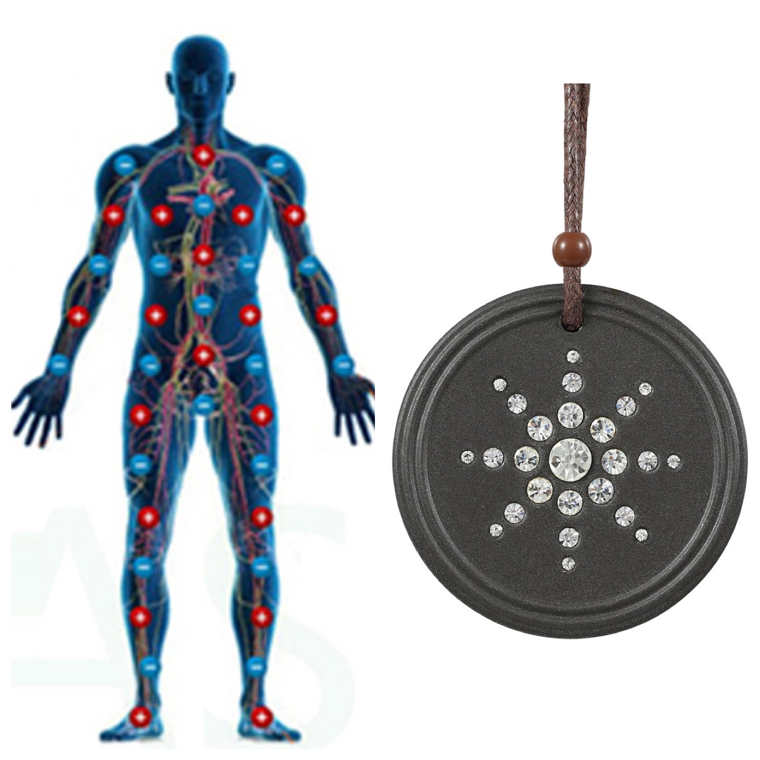 Electromagnetic Radiation Protection Necklace: Amazon.com: Anti EMF Radiation Protection Pendant Energy