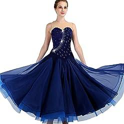 db7095f7f SIQIAN Adult/Child Embroidered International Standard Ballroom Dance Dress  Party Dance Evening Modern Dress