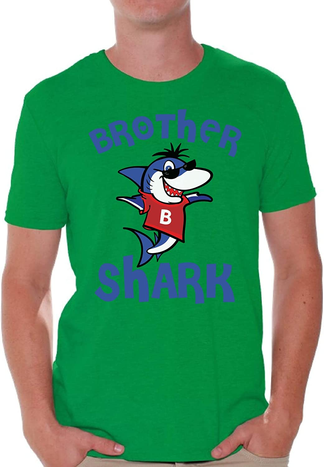 Awkward Styles Brother Shark Tshirt for Men Matching Shark T Shirts for Family