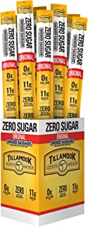 product image for Tillamook Country Smoker Zero Sugar Original Smoked Sausages, 1.25 Ounce (Pack of 24)