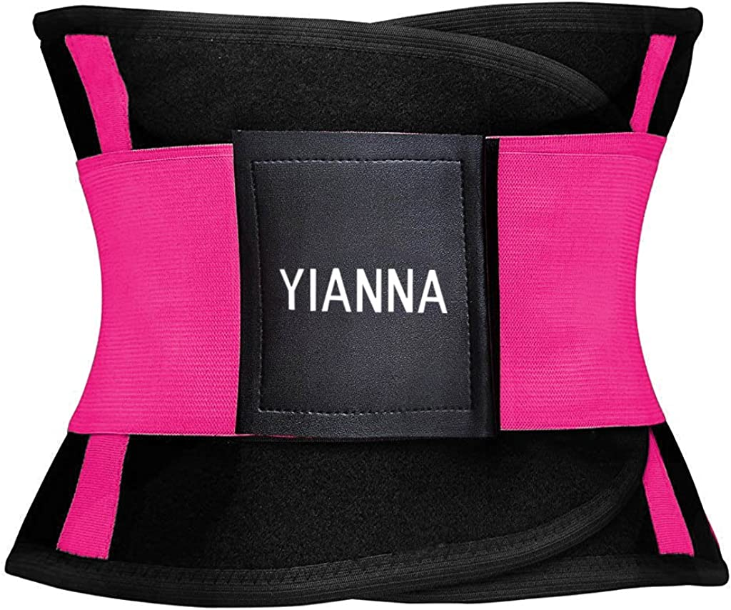 Slimming Sauna Waist Trimmer Belly Band Sweat Sports Girdle Belt YIANNA Women Waist Trainer Belt
