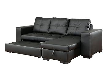Amazon Com Furniture Of America Charlton Contemporary Corner
