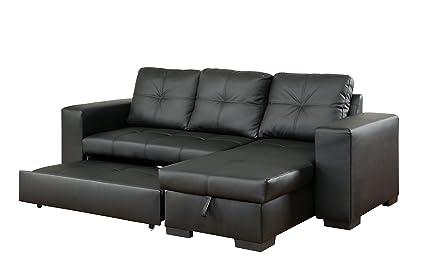 Amazon.com: Furniture of America Charlton Contemporary Corner ...