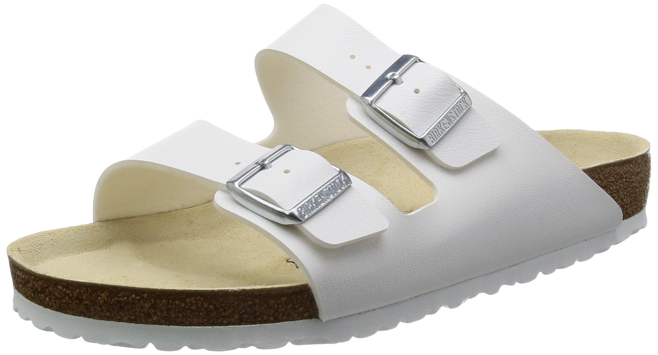 Birkenstock Arizona Sandals Birko Flor - EUR 40 - narrow - white