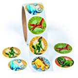 Roll of Dinosaur Stickers (100 Pack) 1