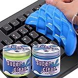 Tostace Keyboard Cleaner Universal Cleaning Gel, 2 PACK/160G Dust Cleaner Gel, Detailing Cleaning Gel for PC Tablet Laptop Ke
