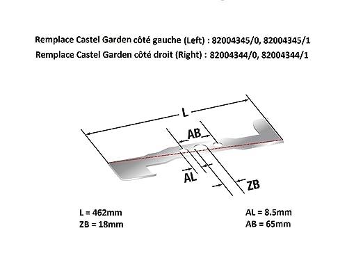 Kit de tiras con soporte y correa Castel Garden 92 cm ...