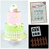 FMM - Picket Fence Cutter Sugarcraft Cake Decoration