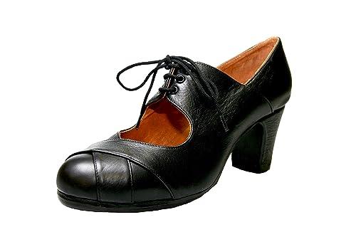 Amazon.com: Zapatillas de baile Flamenco Modelo Cale, Mujer ...